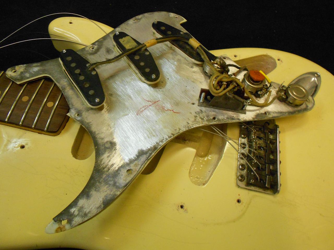 Fender Stratocaster 1963 potentiometer