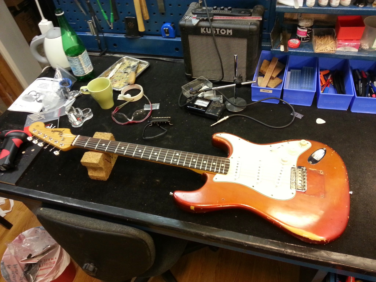 Fender Stratocaster 1965 Candy Apple Red
