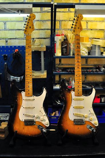 Fender Stratocaster 1956 och 1957
